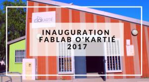 Inauguration FabLab O'Kartié Sciences Réunion