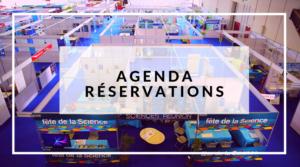 Agenda - Réservations