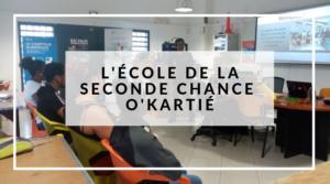 L'Ecole de la Seconde Chance au FabLab O'Kartié