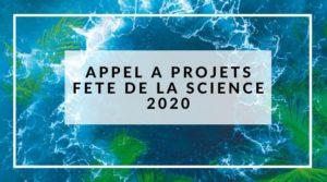 Appel à projets Fête de la Science 2020